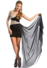 2013 Party Time Fitted Gown 6161